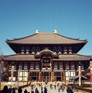 A bright day at Todaiji, Nara