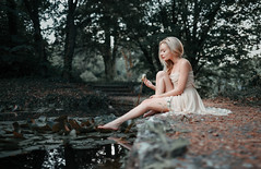 water lily by dontgiveacake -