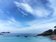 Azure Sea (Cassan Weish) Tags: sea flip redang island cruise ship captain officer drinks drink trail waves water ocean nice random visual nrv