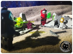 48-30 Unexpected Contagion (captainmutant) Tags: afol classic space lego ideas legospace legography photography minifig minifigs minifigure minifigures moc sciencefiction science fiction scifi exploration brickography toy custom