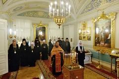 22. Заседание Священного Синода РПЦ 14.05.2018