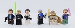 LEGO Star Wars hospice👴 (Alex THELEGOFAN) Tags: lego legography minifigure minifigures minifig minifigurine minifigs minifigurines movie star wars leia solo han organa luke skywalker the force awaken last jedi white brother sister couple young old