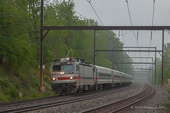 SEPTA AEM-7 #2304 @ Langhorne, PA (Darryl Rule's Photography) Tags: 2018 aem7 bomberset buckscounty catenary clouds cloudy electric express langhorne may neshaminyfalls pa passenger passengertrain pennsylvania railroad railroads reading readinglines readingrailroad regionalrail septa spax spring station sunrise trains trevose ttain westtrentonline