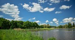 20.05.2018 (Kosmi88) Tags: poland polska natura widok landscepe nature nikon5300 wiosna spring green water las lake outdoor sky clouds chmury trawa