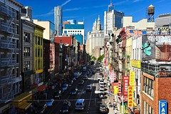 Chinatown street , NYC (jean-marc losey) Tags: usa newyork chinatown street architecture d700