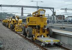 20180426 Blackpool Road-Rail storage depot (blackpoolbeach) Tags: blackpool north railway station railroad volkerrail roadrail inspection platform tower storage depot