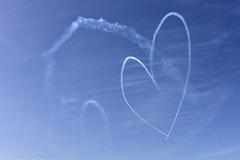 snowbird heart (tesseract33) Tags: tesseract33 nikon light world art travel airplanes snowbirds flight airshow blue sky bluesky peterlang comoxphotographer comox canadianforces rcaf d750 nikond750 smokeon