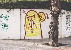 174/365 : What up? (KitaDependence) Tags: graffiti rat yellow streetphotography street nikon nikod610 d610 365 365project 50mm project
