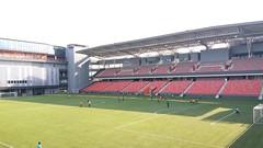 Our Tampines Hub Stadium, Singapore (SunnyGo) Tags: singapore our tampines hub ourtampineshub facilities building green