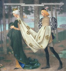Marianne Stokes – The Queen and the Page 1896 (artshers) Tags: art artist herstory mariannestokes painter painting preraphaelite preraphaelitism sisterhood thequeenandthepage victorian woman womensart womenshistory