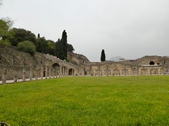 Pompeii tour with Lello (erintheredmc) Tags: pompeii italy italia campania ancient ruins volcano vesuvius vesuvio unesco ad 79 eruption buried april 2018 vacation holiday bucket list archaeological digs panasonic lumix zs60 dmczs60 lello tour guide viator fucking awesome time 40th birthday trip
