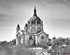 CATHEDRAL OF ST. PAUL -ST. PAUL MINNESOTA (panache2620) Tags: church cathedral nationalhistoricregister stpaulminnesota stpaul architeccture masqueray dome cathedralhill catholic
