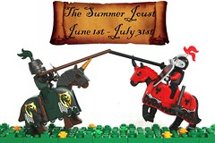 Summer Joust 2018! (-LittleJohn) Tags: lego summer joust contest castle building competition challenge prizes poster medieval