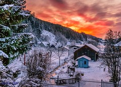 Another sunset... (Sorin Ilie Itu) Tags: sunset winter austria