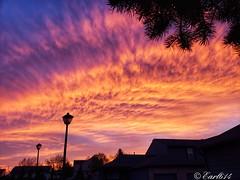 The end of a perfect day! (Edale614) Tags: sunset sunsetsaroundtheworld tgif naturelovers nature columbus ohio sky skyporn wanderlust aroundtheworld photography photo earl614 explore