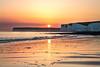 In a sea of honey, a sky of honey (judethedude73) Tags: golden skies dusk spring waters coast coastal