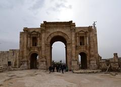 Hadrian's Arch, Jerash, Jordan, January 2018 204 (tango-) Tags: giordania jordan middleeast mediooriente الأردن jordanien 約旦 ヨルダン jerash hadriansarch