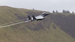 F15 E (Bryn Floyd) Tags: machloop wales lowfly lowlevel low raf usaf hawk tornado tonka eagle f15e spur