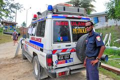 Vanuatu ambulance (CooverInAus) Tags: paramedic luganville promedical vanuatu toyota landcruiser ambulance 4x4 donated