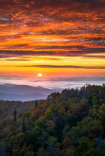 Appalachian Mountains Asheville North Carolina Blue Ridge Parkway NC Scenic Landscape