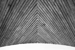 concrete vault (LG_92) Tags: lujubljana castle slovenia concrete vault wood texture pattern curved surface architecture nikon dslr d3100 2018 april bw blackandwhite blackwhite noiretblanc schwarzweiss monochrome detail