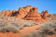 Paw Hole Teepees (William Horton Photography) Tags: arizona navajosandstone page pawhole southcoyotebuttes vermillioncliffsnationalmonument crossbedding geology sandstone teepees
