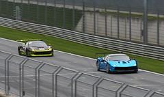 Ferrari 488 Challenge Prototipo and 458 GT3 (Dag Kirin) Tags: ferrari challenge gt days 2018 488 prototipo 458 gt3