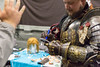 Cosplayer gibt ein Autogramm (marcoverch) Tags: cosplay cologne rpc roleplayconvention köln roleplay rollenspiele cosplayer gibt autogramm military militär people menschen war krieg weapon waffe armor rüstung man mann competition wettbewerb army armee soldier soldat festival adult erwachsene helmet helm skirmish scharmützel sword schwert battle schlacht uniform wear tragen shield schild religion ceremony zeremonie noiretblanc eau blur australia aircraft europe nyc texture abandoned coth5