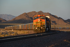 Long shadows at Bagdad (CN Southwell) Tags: bnsf transcon santa fe california bagdad mojave desert
