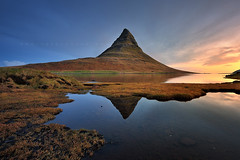 Good Morning Kirkjufell (FredConcha) Tags: kirkjufell iceland fredconcha nikond800 landscape nature sunrise mountain volcanic lake longexposure reflexion 1635 touristic