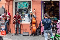 Street Music in The French Quarter (Jill Clardy) Tags: 2018 cruise frenchquarter location louisiana ncl neworleans northamerica norwegiancruiselines unitedstates repositioning sidewalk 201804079l8a0722 nola street art music jazz musicians