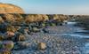 Rocks and Sand at first light (keithhull) Tags: beach sand rocks cliffs landscape sunrise robinhoodsbay northyorkshire
