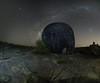 Emu Egg (Steve Paxton WA) Tags: rocks trees stars milkyway panorama nightshots nightsky planets perthfoothills multi row