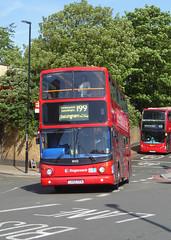 SLN 18455 - LX55EPA - LEWISHAM STATION - FRI 11TH MAY 2018 (Bexleybus) Tags: stagecoach london lewisham station dlr train shopping centre se13 adl dennis trident alx400 alexander tfl route 199 18455 lx55epa