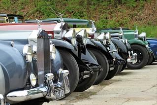 Classic Rolls-Royce line up.