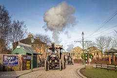 Beamish GWSF 2018 (Ben Matthews1992) Tags: beamish museum county durham britain england old vintage historic preserved preservation vehicle transport steam traction engine rally fair owler su884 ew2335