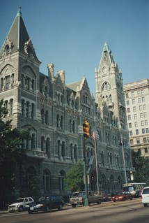 Richmond  Virginia - Old City Hall - Historic - Gothic Architecture