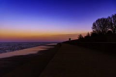 togetherness into sunset of life (BBClix) Tags: chicago chicagodowntown silhouette nikon nikond750 lake landscape nature