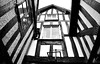 Merging lines (RapidSpin) Tags: tudor house architecture historic jettying timberframed joist cantilever windows lines merge