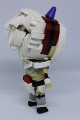 Monster Hunter Kirin armour (Magmafrost13) Tags: monsterhunter lego moc kirin mhw monsterhunterworld