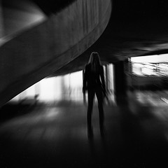 Standing here (HariRaj Ji) Tags: thankyou thankyoumark tatemodern silence empowered gratitude london nikon curve monochrome norahjones blur blurism