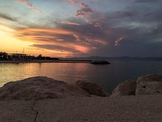 Sunset on Brač