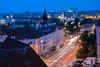 (bialobrody) Tags: bluehour praha prague city lighttrails
