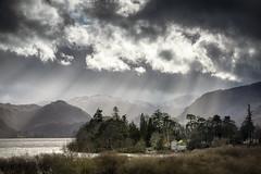 Derwentwater (TrotterFechan) Tags: derwentwater lakedistrict lake landscape sun rays
