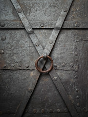 XO | P2250053 (mkreibohm) Tags: texture metal door x lines circle diagonals bolts castle old structure architecture detail closeup nürnberg nuremberg abstract minimal minimalism minimalist olympus omdem1 micro43 microfourthirds blacksmithing symmetry shape rust rusty handle ring opener