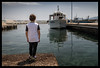 thoughts at the pier (ukke2011) Tags: nikond850 nikkor3514g harbor porto sea mare fishingboat peschereccio