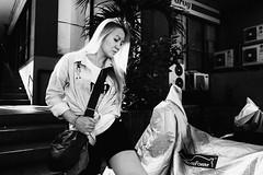 Blond (Meljoe San Diego) Tags: meljoesandiego ricoh grd4 grdiv streetphotography candid monochrome alaminoscity philippines