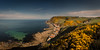 Crovie (GenerationX) Tags: aberdeenshire barr canon6d crovie gamrie gamriebay gardenstown neil scotland scottish beach broom clouds cottage dusk evening fishingvillage gorse harbour landscape panorama pier sea seascape shore sky stitched sunset water unitedkingdom gb