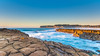 Early Morning Seascape from Rock Platform (Merrillie) Tags: daybreak sunrise northavoca nature water rocks centralcoast morning newsouthwales waves earlymorning nsw sea avocabeach ocean rocky landscape northavocabeach coastal waterscape sky seascape australia coast dawn outdoors