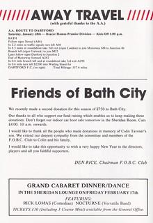 Bath City vs Crawley Town - 1989 - Page 4